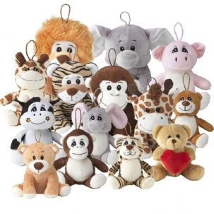 "8"" Ultra Soft Cuddly Plush Toys"
